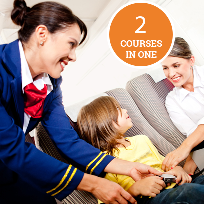 Air Cabin Crew Level 3 & 4 Course Bundle