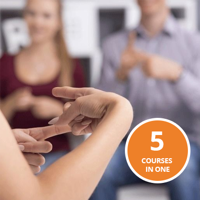 British Sign Language Level 1,2,3,4 and 5 Course